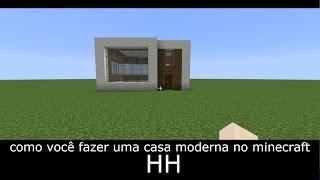 getlinkyoutube.com-TUTORIAL : como você fazer uma casa moderna no minecraft