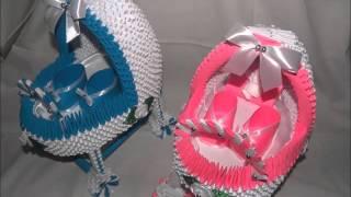 Origami modułowe , 3D , ozdoby