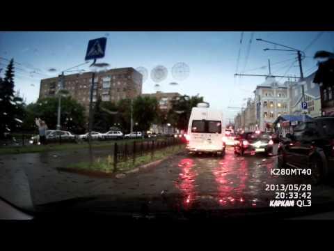 Потоп на Жукова в Калуге