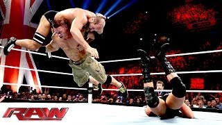 getlinkyoutube.com-John Cena vs. The Real Americans - 2-on-1 Handicap Match: Raw, Nov. 11, 2013