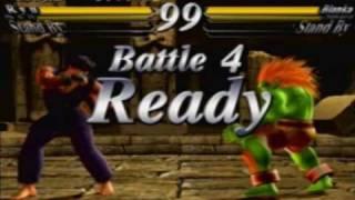 getlinkyoutube.com-Street Fighter EX3 - Evil Ryu Playthrough