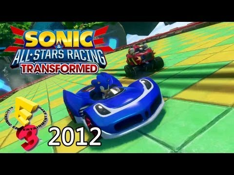 Sonic & All-Stars Racing Transformed 'E3 2012 Trailer' TRUE-HD QUALITY