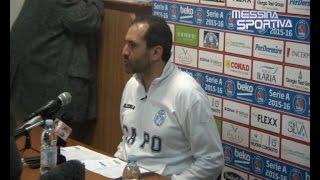 Gennaro Di Carlo commenta il suo esordio con sconfitta a Pistoia