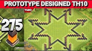 "getlinkyoutube.com-Clash of Clans - ""New"" Layout, Design (TH10) Farming Base 2015 w/275 walls + Speed Build 