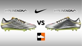 getlinkyoutube.com-Nike Hypervenom Phantom vs. Phatal Football Boots Comparison