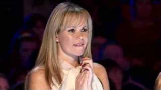 getlinkyoutube.com-Britain's Got Talent 2009 FATAL ACCIDENT WHILE AUDITION 3 Mike Henderson New hot Judge