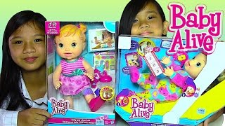 getlinkyoutube.com-Baby Alive Baby Doll: Gets a Boo-Boo and Baby Alive Tickles n Cuddles - Kids' Toys