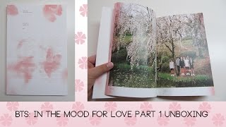 BTS: In the Mood for Love Pt. 1 ALBUM UNBOXING