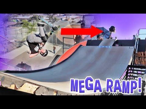 INSANE MEGA RAMP TRICKS!