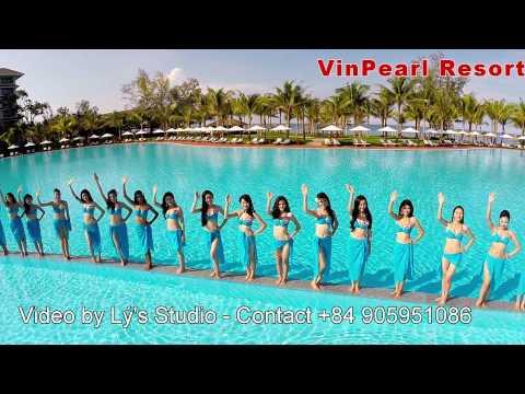Thi Sinh Hoa Hau VietNam 2014 Trinh Dien BiKiNi - VinPearl Phú Quốc