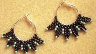 getlinkyoutube.com-Spikey Hoop Earrings