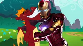 getlinkyoutube.com-Iron Man meets My Little Pony