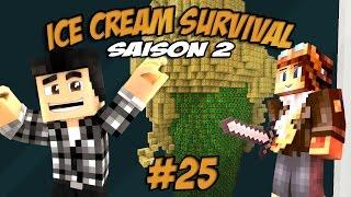 UN CÔNE DE LUCKY BLOCK !! - Ice cream survival s2 #25