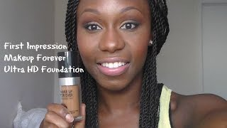 First Impression Makeup Forever ULTRA HD Foundation