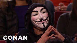 "getlinkyoutube.com-Conan Has Angered ""Anonymous""  - CONAN on TBS"