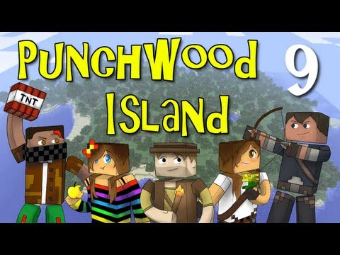 "Punchwood Island E09 ""Abandoned Mine"" (Minecraft Family Survival)"