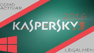 getlinkyoutube.com-COMO ACTIVAR KASPERSKY ANTIVIRUS 2016 | Para Siempre Trial Reset