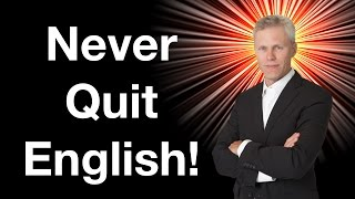 Never Quit English