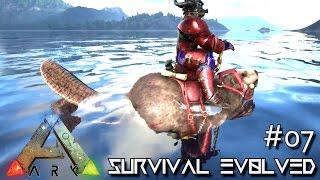 getlinkyoutube.com-MODDED ARK: Survival Evolved - SPEEDY ROCKET BEAVER !!! E07 (Gameplay)