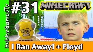 getlinkyoutube.com-Minecraft Floyd #31, HobbyFrog Ran Away! HobbyGamesTV