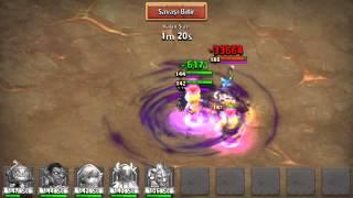 Kale Savaşı Boss 3 Balkabağı 7/9 35M vurma :)