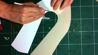 getlinkyoutube.com-How to make shoes:3 methods for springing a shoe pattern