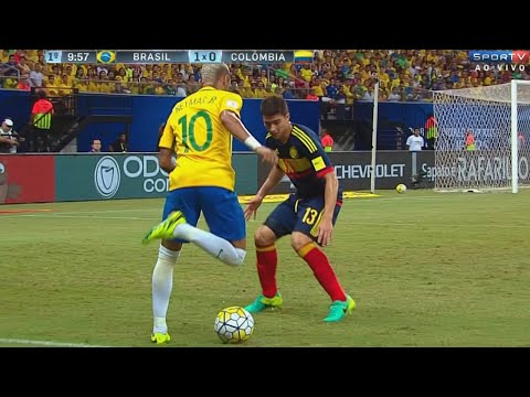 Neymar vs Colombia (Home) 16-17 HD 720p (06/09/2016)