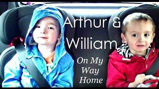 "getlinkyoutube.com-Arthur and William (Age 4) Singing Pentatonix' ""On My Way Home"" Compilation"