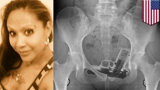 getlinkyoutube.com-アソコに銃を隠し、拘置所に持ち込んだ女