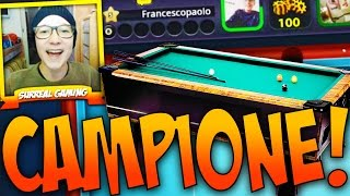 getlinkyoutube.com-SONO IL RE DELLA CARAMBOLA!! - 8 Ball Pool