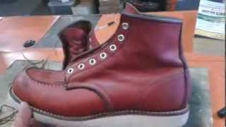 getlinkyoutube.com-HOW TO CLEAN RED WING LEATHER BOOTS