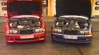 BMW M5 (E39) vs Alpina B10 V8 4.6L (german)