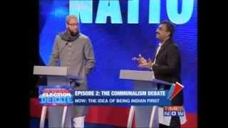 getlinkyoutube.com-Great answer to Owaisi by Ram Madhav on Arnab debate - India, pluralism, hindu etc