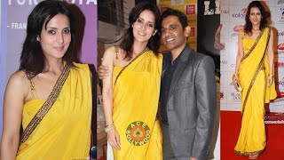 getlinkyoutube.com-Sexy Tulip Joshi Showing her low waist Saree