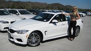 """New BMW 428i Gran Coupe M Sport /19"""" M Wheels Quick Review"""