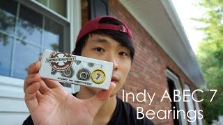 getlinkyoutube.com-Independent ABEC 7 Bearings Review | Spin Test | Unboxing
