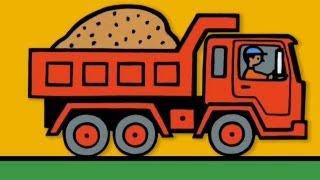 getlinkyoutube.com-Мультфильмы про машинки - Рабочие Грузовики - детское приложение для iPAD