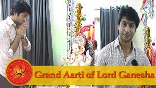 Namish Taneja Aka Lakshya Makes His Wish From Ganpati Bappa