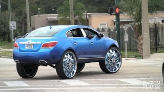 getlinkyoutube.com-BUICK LACROSSE on 32 INCH DUB ZIPPO RIMS- FLORIDA CLASSIC 2015