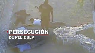 getlinkyoutube.com-Policías persiguen a ladrones de tráiler en Jalisco