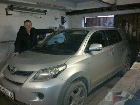 Toyota Ist 2007 краткий обзор