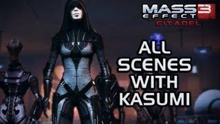 getlinkyoutube.com-Mass Effect 3 Citadel DLC: All scenes with Kasumi