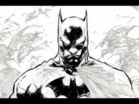 Batman Inking - Jim Lee Pe
