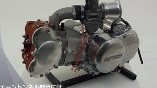 getlinkyoutube.com-Nuevo Motor DAYTONA 125cc DOHC 4V