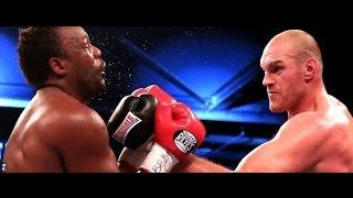 getlinkyoutube.com-Dereck Chisora vs Tyson Fury 2 - HIGHLIGHTS