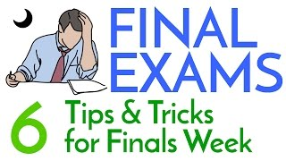 Finals Week! - 6 Study Tips & Tricks