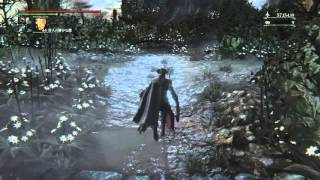 getlinkyoutube.com-[ブラッドボーン The Old Hunters] 獣狩の曲刀 モーション