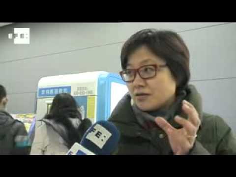 Instalan en el metro de Pekín máquinas para reciclar botellas que a cambio dan dinero