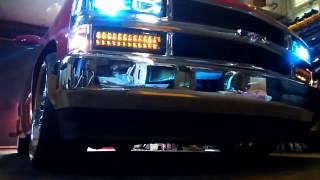 getlinkyoutube.com-Chevrolet C1500 bagged on 22s cold start.