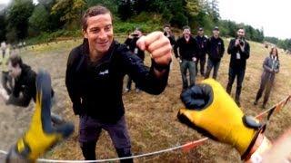 getlinkyoutube.com-Running the Tough Mudder / BEAR GRYLLS / Seattle